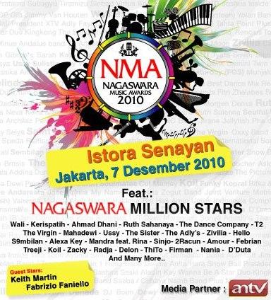 Nominasi NMA 2010