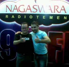 Fabrizio Tiba, Malam Mingguan di Nagaswara FM