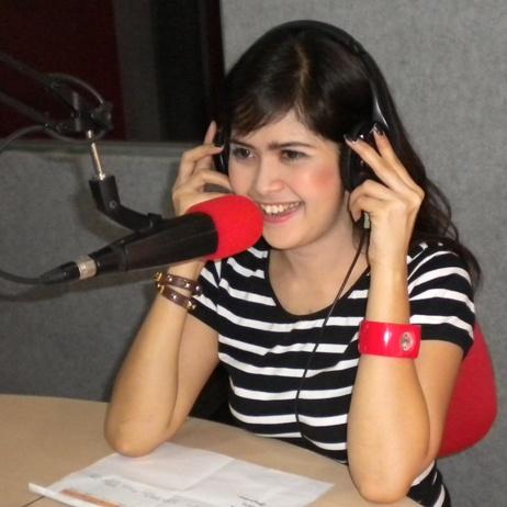 Audrey Phoner dan Interview di Nagaswara FM