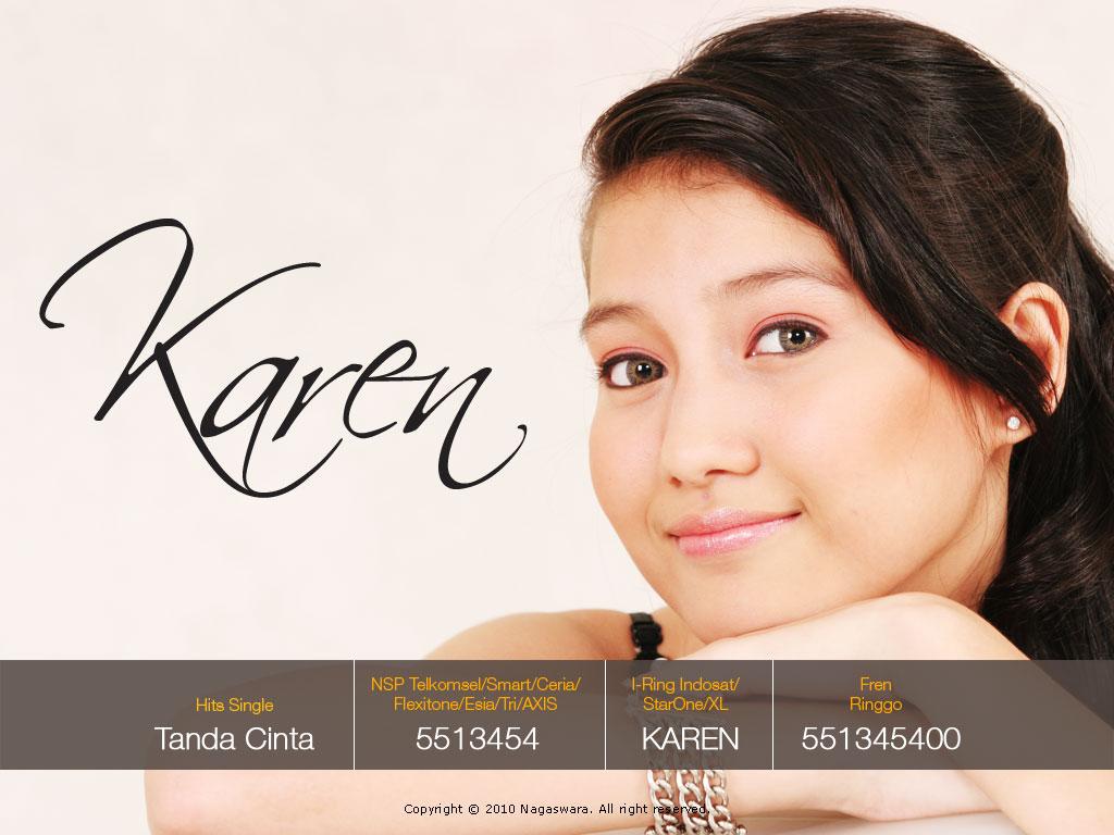 Karen, Tanda Cinta