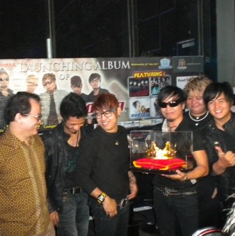 Nagaswara FM Live Launching Radja Aku Di Tangamu, Golden Crown Jakarta