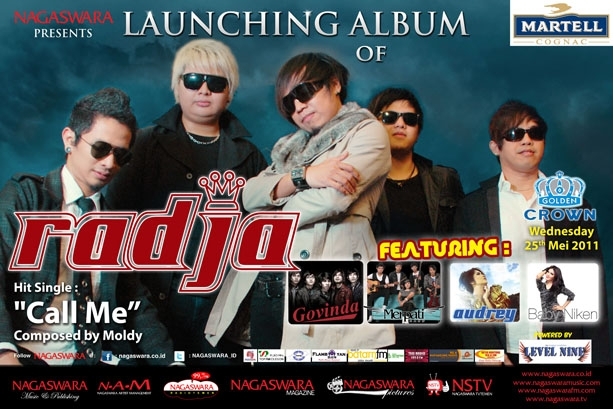 Radja Launching Album Aku di Tanganmu
