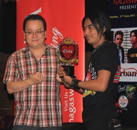 Charly Launching SPC, PCM dan Album Kompilasi Cinta live di Nagaswara FM