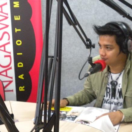 Fariez FM Phoner dan Live Interview di Nagaswara FM