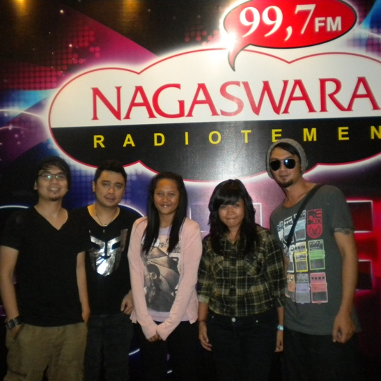 Nagaswara FM Live Interview & Phoner Seiya Band Single Ego