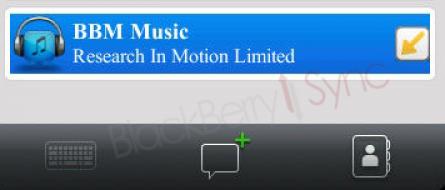 Aplikasi BBM Music