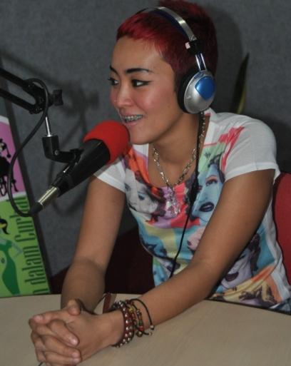 Inna Kamarie, Phoner dan Interview di Nagaswara FM