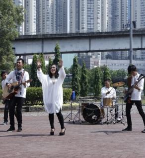 Merpati Band Syuting Video Klip Jalan Terang Mu