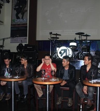 Drive Jumpa Pers Launching Cahaya Terang Hard Rock Cafe