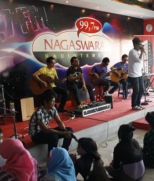 Dasiad Band & Shazlin Heboh di Nagaswara FM Bogor