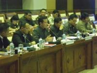 Rapat Panitia Kerja Pencurian Pulsa Komisi 1 DPR RI
