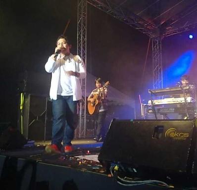 Wali Hadir Lagi di Konser Karnival Belia Gemilang 2012 Terengganu