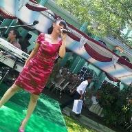 Zaskia di HUT ke-46 Rindam Jaya