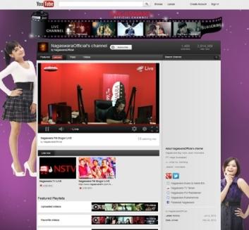 NSTV & Radio NAGASWARA FM Live Streming di Youtube