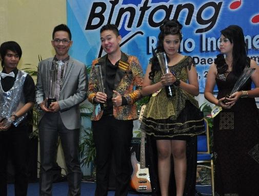 Bintang Radio Indonesia 2012 tingkat Sumsel Meriah