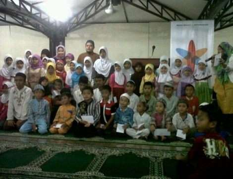 Indosat Tasyakur Nagaswara FM di Mesjid Raya Bogor