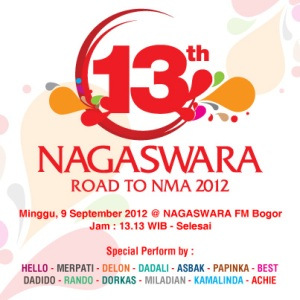 13th NAGASWARA Road to NMA 2012