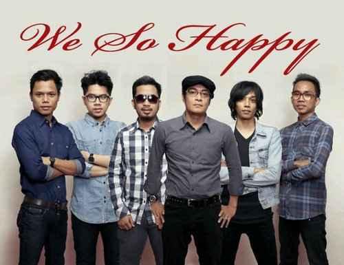 We So Happy Vokalis Baru Harapan Baru