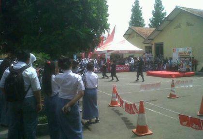 Honda Schoollicious Bikin Meriah Milad SMA Negeri 1 Ciawi
