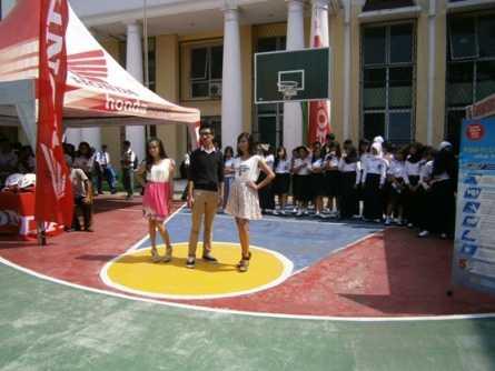 Honda Schoollicious bikin seru SMA/SMK Taruna Andhiga