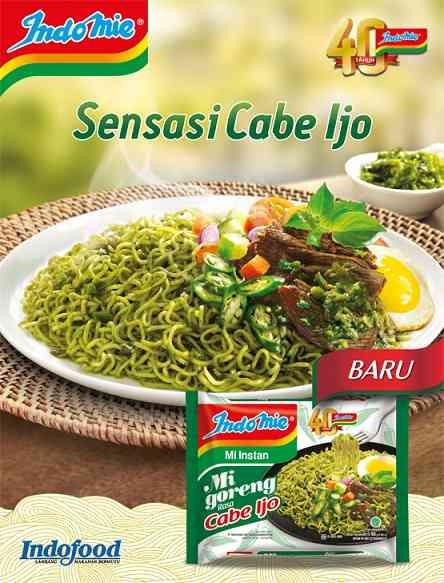 Indomie Goreng Cabe Ijo