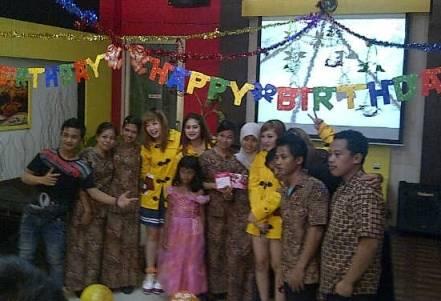 BE5T Meriahkan Pesta di Banjarmasin