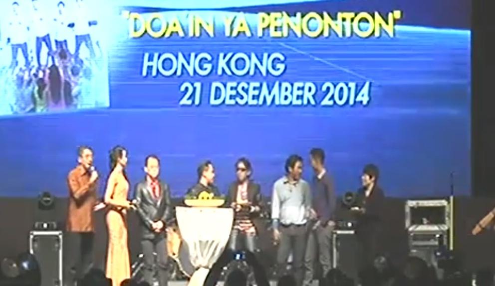 Wali Launching Doain Ya Penonton di Hongkong