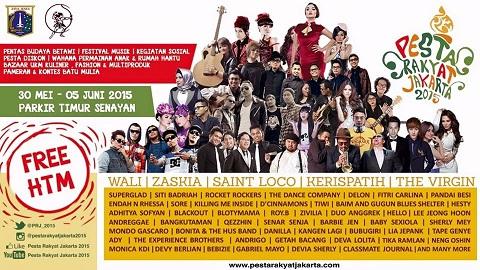 Pesta Rakyat Jakarta Dipenuhi Artis NAGASWARA