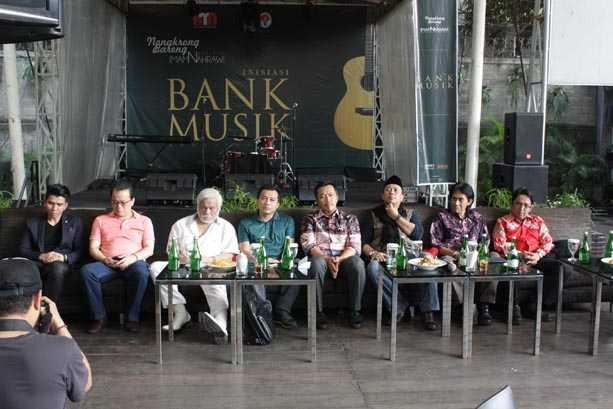 Hari Musik Nasional Bersama Menpora