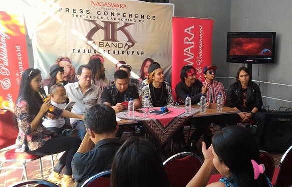KK Band Launching Album Tajuk Kehidupan