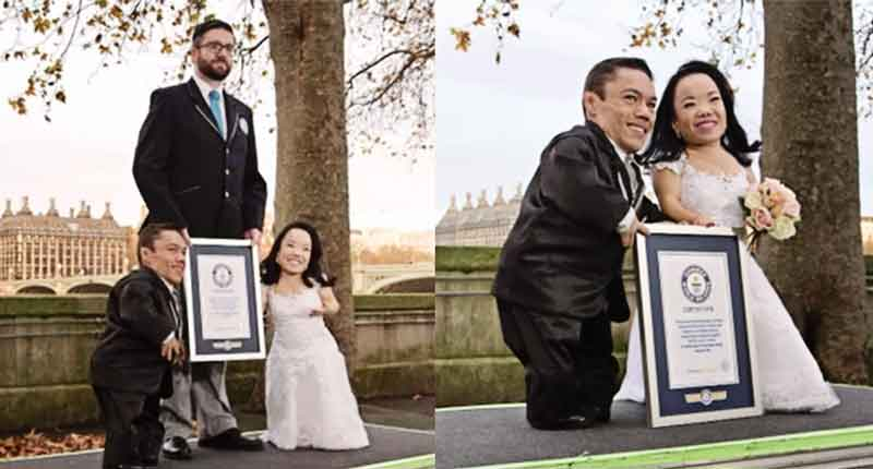 Guinness World Records : Pengantin Terpendek Di Dunia