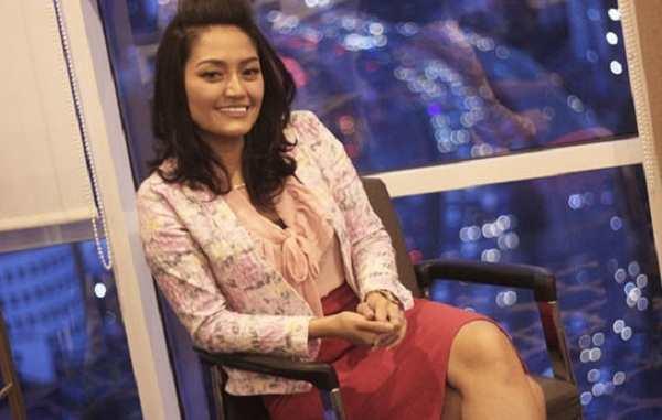 Siti Badriah Berbagi Tips Sehat di Lokasi Syuting