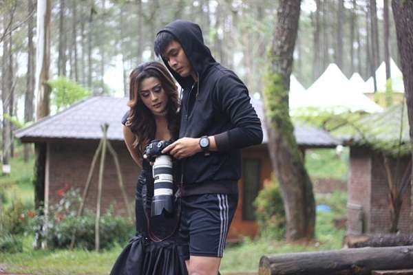 Selvi Kitty Syuting Klip Takut Kamu Hilang di Lembang Bandung