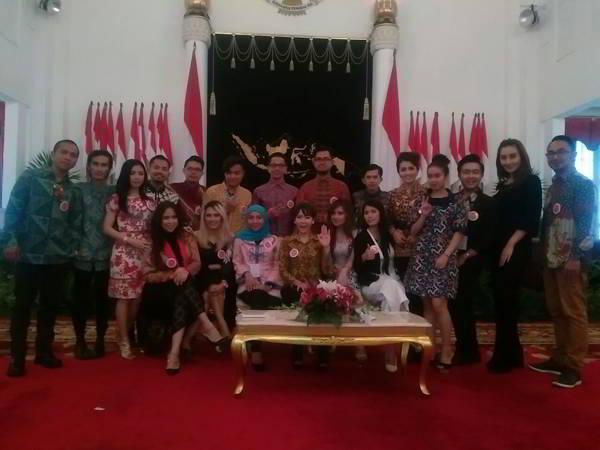 Artis NAGASWARA Peringati Hari Musik Nasional di Istana Negara