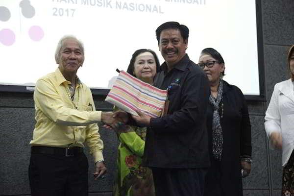 Perpustakaan Nasional Berikan Anugerah Komponis Indonesia