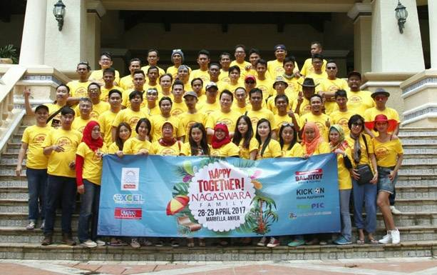 Happy Together NAGASWARA Group Marbella Anyer 2017
