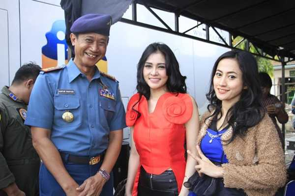 HUT TNI AL PUSPENERBAL KE-61 Dimeriahkan Devay Duo Anggrek & Intan Sari Iyem