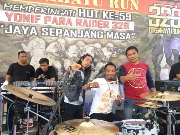 KK Band Rayakan HUT Kostrad 328 Cilodong