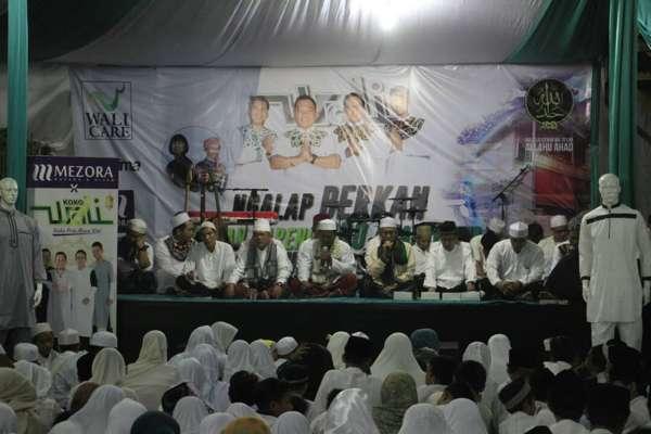 Wali Ngalap Berkah di Basecamp Baru Setu Tangerang Selatan
