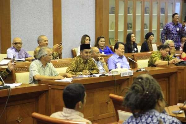 Kami Musik Indonesia Ajukan RUU Permusikan ke DPR
