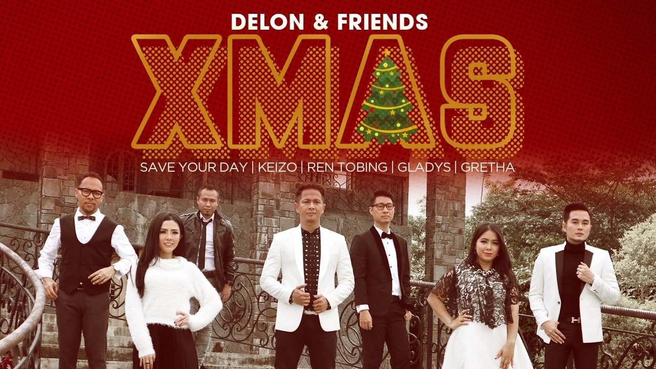 Delon & Friends X'Mas Mini Album Rohani Resmi Di Rilis