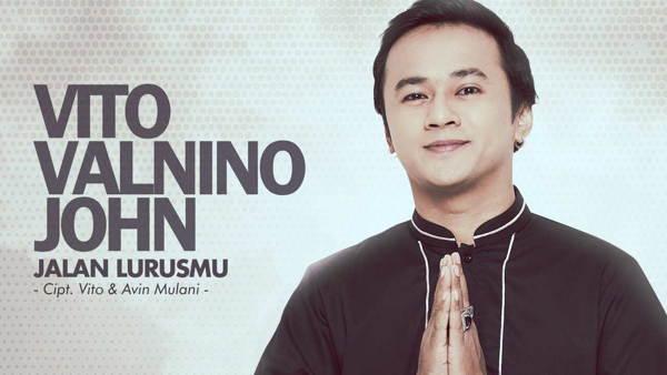 Jalan LurusMu Jadi Single Religi Perdana Vito Valnino John