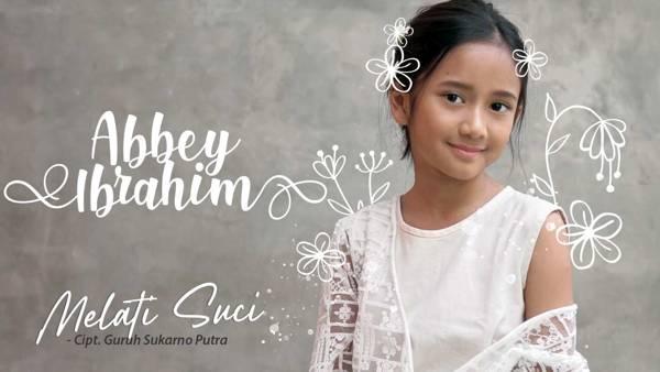 Abbey Ibrahim Rilis Lagu Melati Suci Karya Guruh Sukarno Putra