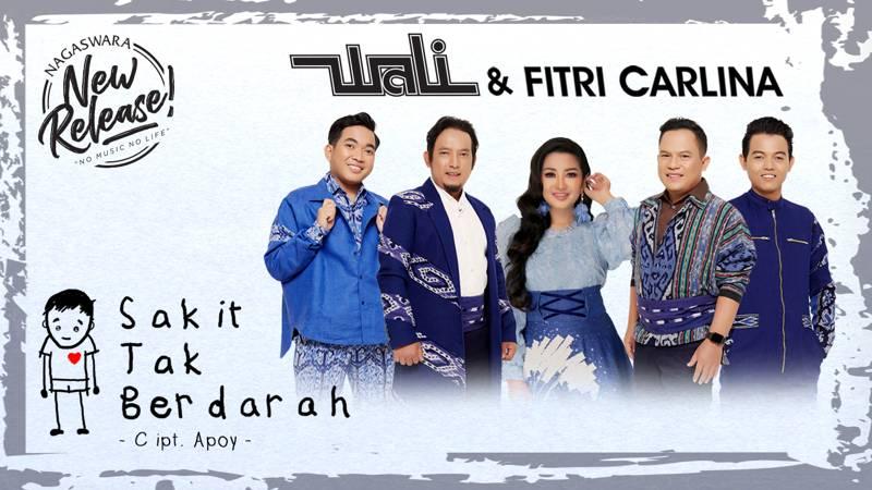 Wali Dan Fitri Carlina Putar Perdana Lagu Sakit Tak Berdarah Di Radio